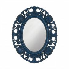 "Buy *18871U - Blue Scallop 21"" Oval Wall Mirror"