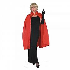 """Buy NEW RUBIE'S RED SATIN 45"""" CAPE ADULT VAMPIRE GHOUL #16254 HALLOWEEN COSTUME"""