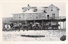 Buy Central Oregon Stage Coach Leaving Shaniko, Oregon Real Photo Vintage Postcard