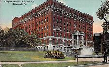 Buy Allegheny General Hospital, N.S., Pittsburgh, PA Vintage Postcard