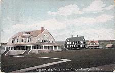 Buy Rangeley Lake, ME, Caisno and Cottages, Rangeley Lake House Vintage Postcard