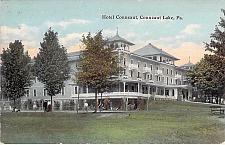 Buy Hotel Conneaut Exposition Park Conneaut, Lake, PA Vintage Postcard