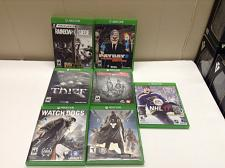 Buy Xbox One Lot of 7 Games