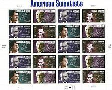 Buy 2005 37c American Scientists, Sheet of 20 Scott 3906-09 Mint F/VF NH