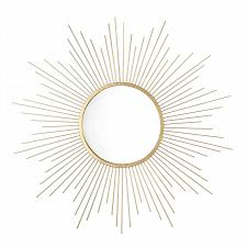 "Buy *18890U - 24 1/2"" Ironwork Spray Golden Rays 8 1/2"" Round Mirror"