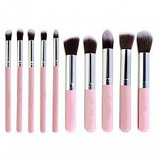 Buy 10Pcs Makeup Brushes kit Cosmetic Eye Face Powder Foundation Brushes Tool eyelin