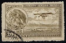 Buy Mexico #C23 Coat of Arms and Airplane; Used (3Stars) |MEXC023-04XRS
