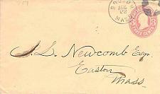 Buy Circa 1868 Boston Mass Fancy Cancel Star in Circle on U59 PSE Cover