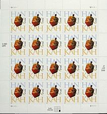 Buy 2004 37c Hanukkah, Dreidel, Sheet of 20 Scott 3880 Mint F/VF NH