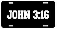 Buy JOHN 3:16 License Plate Car Tag Vanity Plate