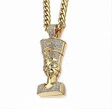 Buy Elvis Presley TCB NY Concert Jumpsuit Stage Necklace Egyptian Cobra King Pendant
