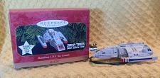 Buy Hallmark Keepsake Magic Star Trek Runabout Christmas Ornament Worf's Voice Light