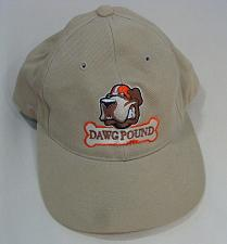 Buy Cleveland Brown Dawg Pound Cap Hat Snap-back Adj Size Collectible Headmaster