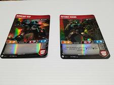 Buy Transformers Trading Card Game TCG WOTC Set of 2 Sergeant Kup Autobot Hound 2018