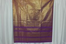 Buy Thai Tradition Purple Synthetic Silk Fabric For Top Skirt Wedding dress E10