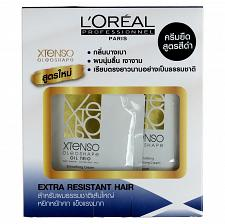 Buy L'Oreal Xtenso Oleoshape Hair Straightener Extra Resistant Hair 125ml + 125ml