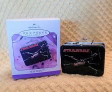 Buy Hallmark Keepsake Star Wars Tin Lunch Box Christmas Ornament 1998 W/Box