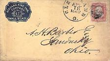 Buy Cleveland Ohio, NY Small Cameo Corner, Circa 1857 Cover