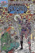 Buy Comic Book Against Blackshard 3-D #1 Sirius 1986