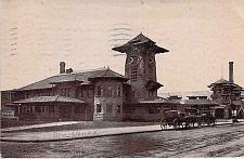 Buy T.O&C. Station, Columbus, Ohio. Vintage 1910 Used Postcard