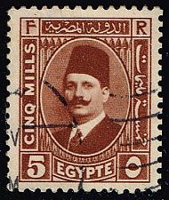 Buy Egypt #135 King Fuad; Used (0.40) (4Stars) |EGY0135-07XBC