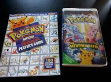 Buy Pokemon Official Nintendo Players Guide 1998 + POKEMON FIRST MOVIE VHS