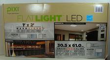 Buy PIXI LED FLAT LIGHT 1' X 2' 2700K ONLY 24Ws 2M LUMENS W/MOUNT HDW ENERGY STAR