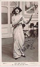 Buy Silent Movie Actress Emmy Wehlen Signed Autograph Real Photo Unused Postcard