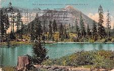 Buy Black Buttes, Shasta Route Southern Pacific Railroad California Vintage Postcard