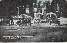 Buy Entrance to the Fair Grounds, Rocky Ford, Colo. Unused Vintage Postcard