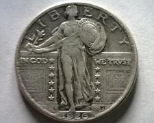 Buy 1926-D STANDING LIBERTY QUARTER EXTRA FINE+ XF+ EXTREMELY FINE+ EF+ ORIGINAL