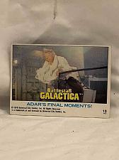 Buy Trading Card Battlestar Galactica #13 Adar's Final Moments 1978