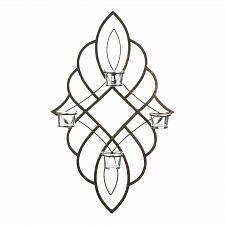 Buy *18760U - Regal Tea Light Candle Wall Sconce 4 Glass Cups