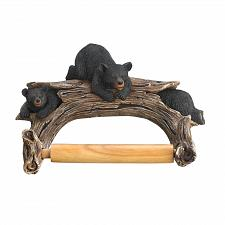 Buy *16202U - Black Bear Toilet Paper Roll Holder Wall Mount