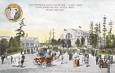 Buy Alaska Yukon Pacific Exposition 1909 Seattle Official Vintage Postcard