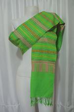 Buy Laotian Jok Sabai Cotton Fabric Thai Lao Laos Textile Wrap Scarf Shawl SC52