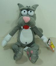 Buy 2006 The Simpsons Scratchy Plush Nanco Stuffed Animal 20th Century Fox With Tags