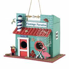 Buy *18681U - Flamingo Paradise Birdhouse