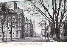 Buy Portland, Sixth St., Showing Hotel Portland Oregon Vintage Postcard