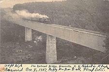 Buy The Railroad Bridge, Greenville, N.H. Vintage Postcard