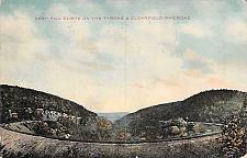 Buy Deep Fill Curve on The Tyrone & Clearfield Railroad Penna. Vintage Postcard