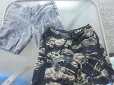 Buy 1x sz 36 O'Neill Hyperfreak Boardshorts Swimsuit + 1x PAIR BURNSIDE Shorts, GUC