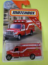Buy 2019 Matchbox International Terrastar Ambulance MBX Rescue #41