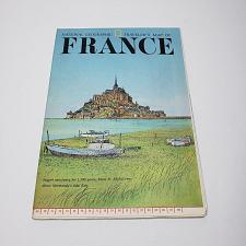 Buy National Geographic Society Travelers Map France 1971 (M2)