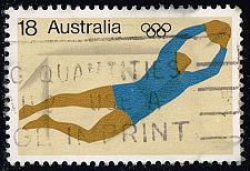 Buy Australia #637 Soccer Goalkeeper; Used (0.25) (3Stars) |AUS0637-02XBC