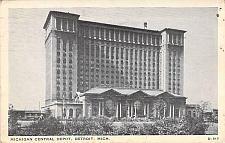 Buy Michigan Central Railroad Central Depot, Detroit, Mich. Vintage Postcard