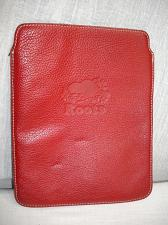 "Buy M403 Roots Red Leather Tablet Sleeve Cover Folio Case 7.5"" x 9.5"" Beaver Logo"