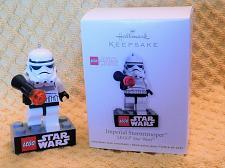 Buy Hallmark Keepsake Lego Star Wars Imperial Stormtrooper Christmas Ornament W/Box!