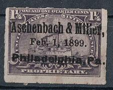 Buy 1-1/2 Battleship Documentary Revenue Precanel 1899 Aschenbach & Miller