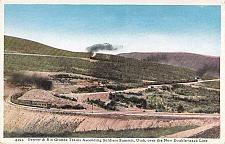 Buy Denver & Rio Grande Trains Ascending Soldiers Summit Utah Vintage Postcard